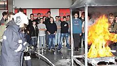 HTL-Pinkafeld zu Besuch in der Landesfeuerwehrschule