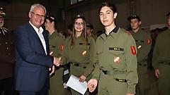 Nachwuchs bei der Feuerwehr gesichert FJLA Gold im Landesfeuerwehrkommando