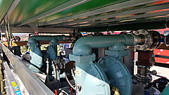 AWP-Ölwehranhänger mit Pumpen und Auffangbehältern in großen Dimensionen