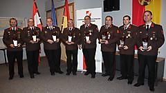 Die Kommandanten der 8 beliebtesten bgld. Feuerwehren