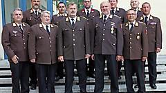 1. Reihe v.l.n.r: OP - Martin Reidl, MA- Adolf Binder, LFK Alois Kögl, ND (LFKS seit 1.5.2018) - Ronald Szankovich, LFI - ab 1.7.2018 Richard Bauer. 1 Reihe v.l.n.r: JE - ab 1.8.2018 Ing. Franz Kropf, Rust - Harald Freiler, E - DI Werner Fleischhacker, EU - ab 1.7.2018 Ing. Gerald Klemenschitz, OW - seit 1.5.2018 Wolfgang Kinelly, GS - seit 1.1.2018 Thomas Jandrasits